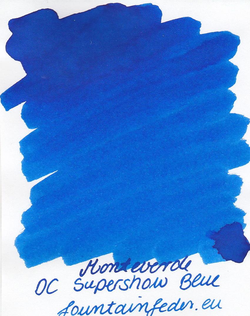 Monteverde DC Supershow Blue Ink Sample 2ml