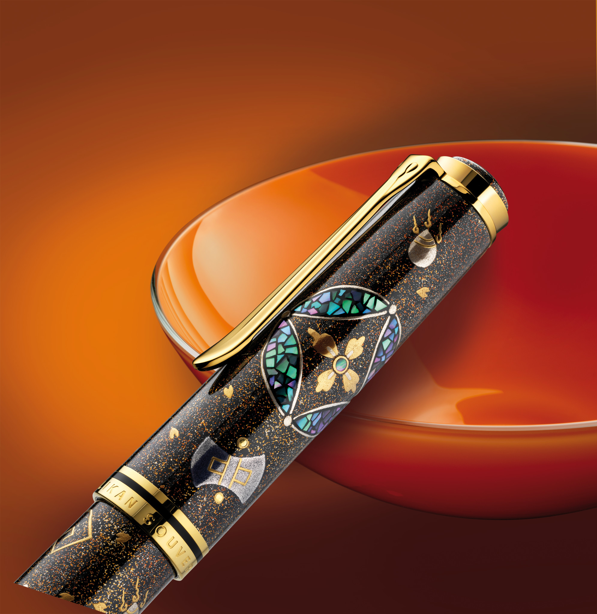 Pelikan Maki-e Seven Treasures - Limited Edition Kappe
