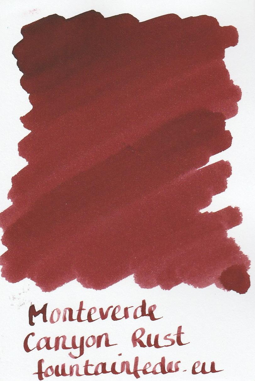 Monteverde  Canyon Rust Ink Sample 2ml