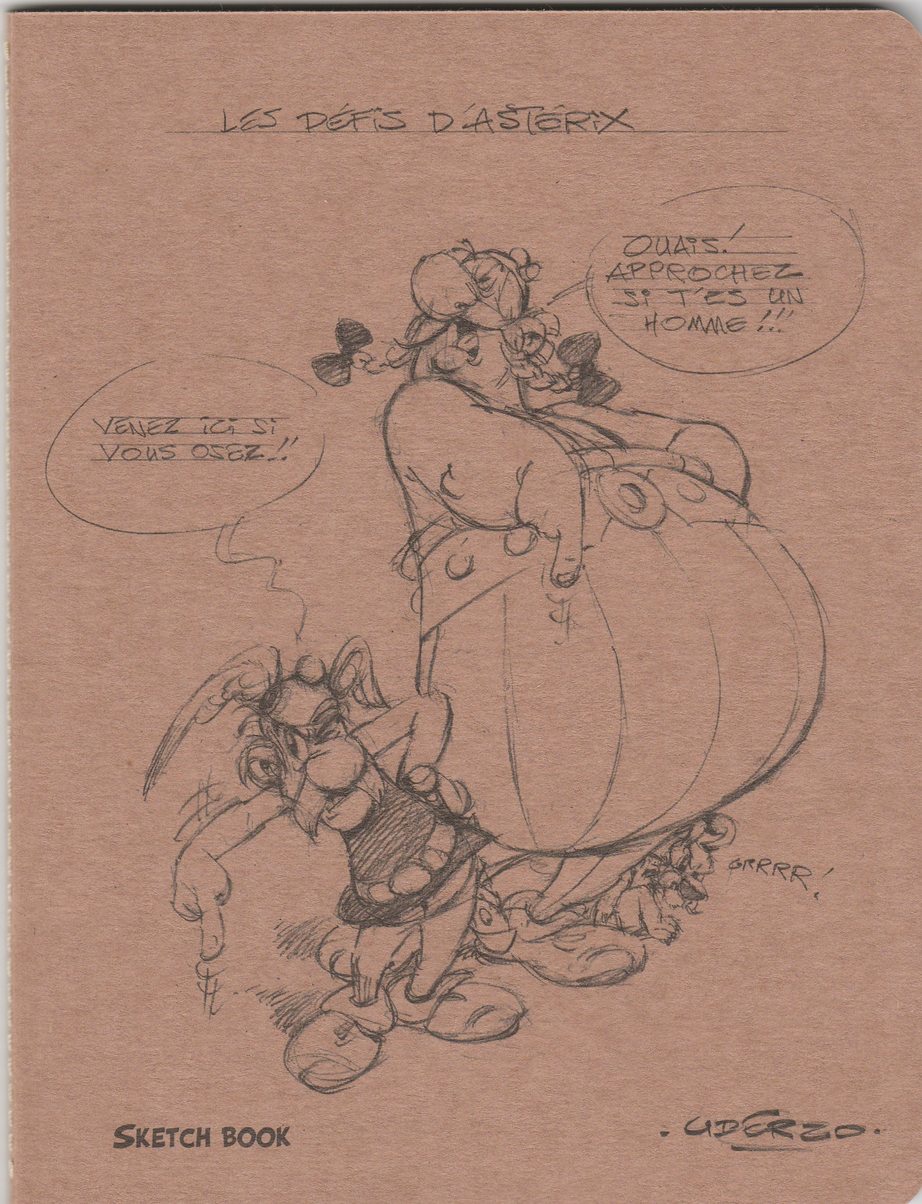 Asterix by Clairefontaine A5 Sketchbook
