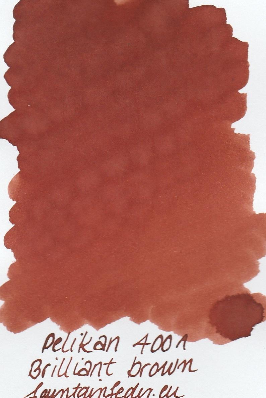 Pelikan 4001 Brilliant Braun Ink Sample 2ml