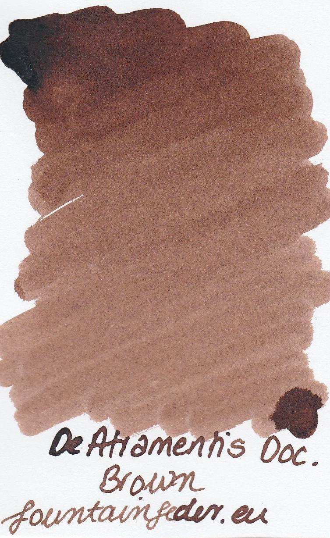 DeAtramentis Document Brown - Ink Sample 2ml
