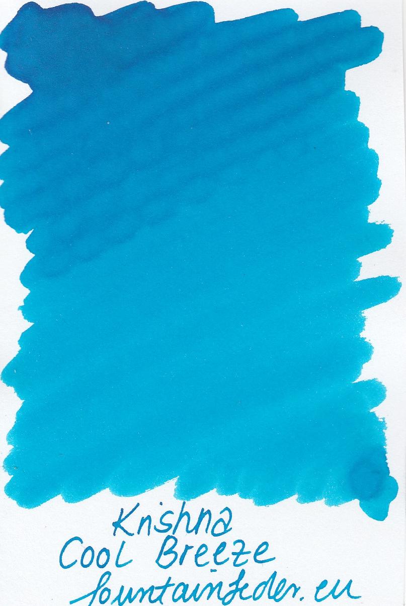 Krishna SR Cool Breeze Ink Sample 2ml