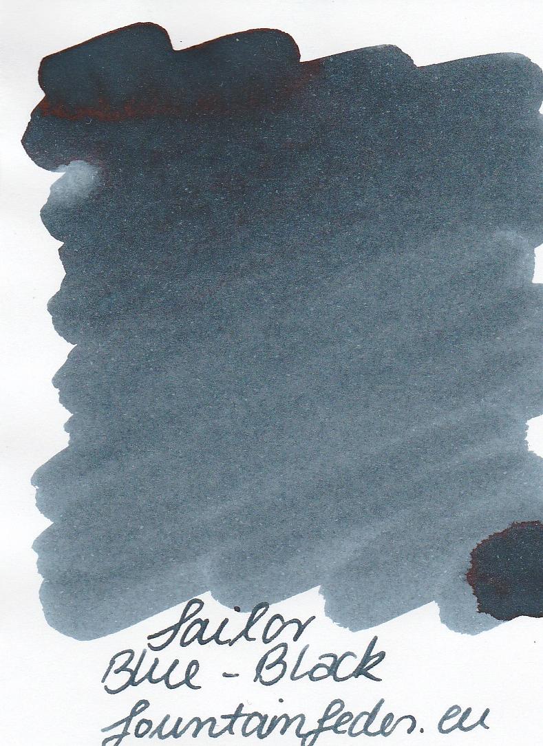 Sailor Basic Blue Black Ink Sample 2ml