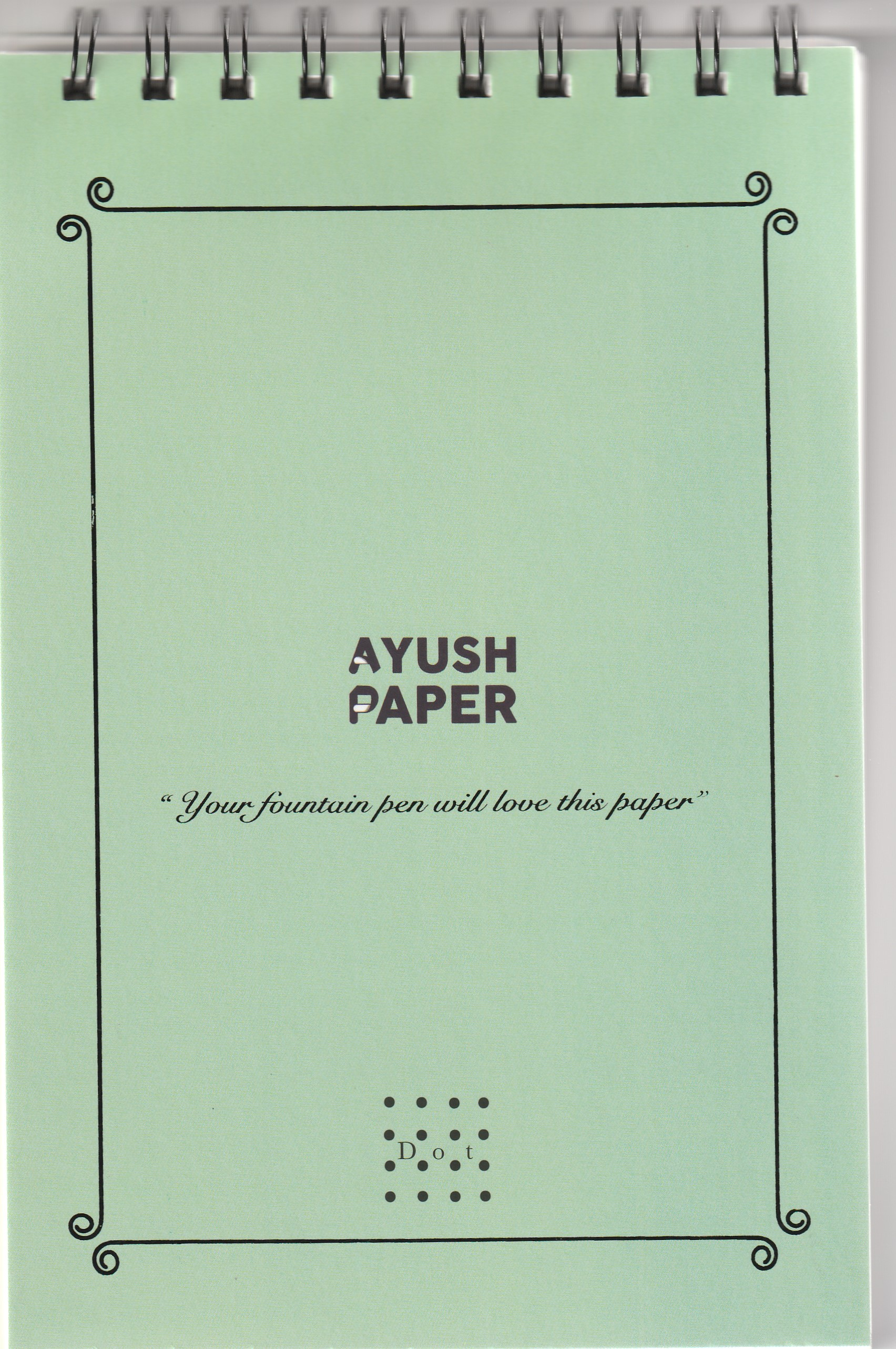 Ayush Paper Notepad A5 Dot