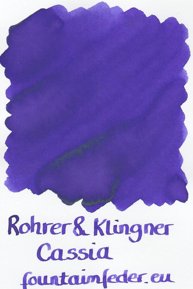 Rohrer & Klingner Cassia Ink Sample 2ml