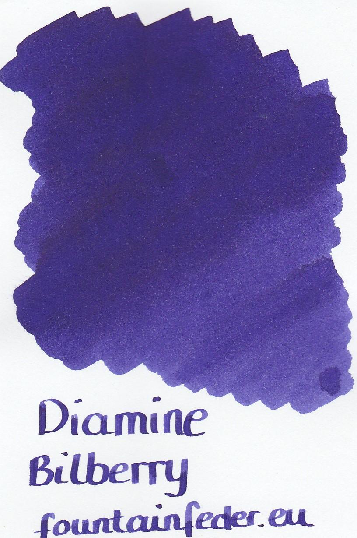 Diamine Bilberry Ink Sample 2ml