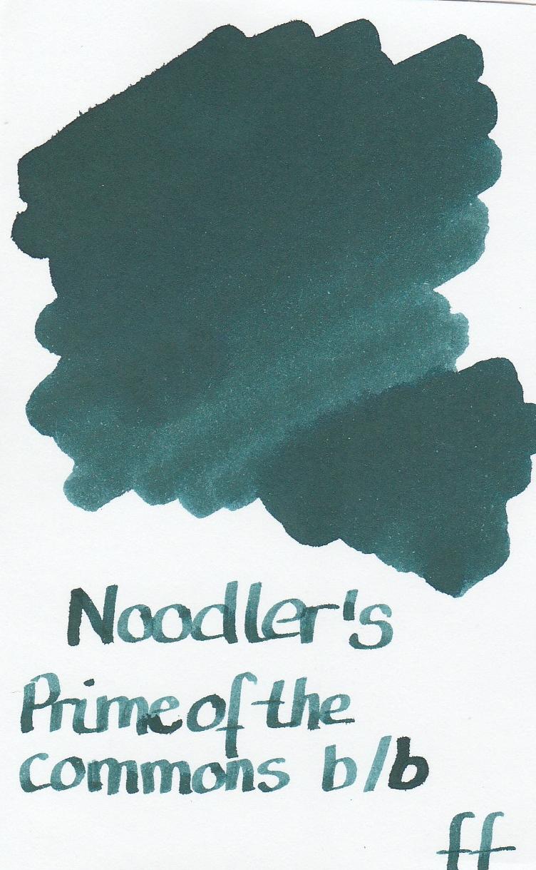 Noodler`s Prime of the commons blue-black Ink Sample 2ml