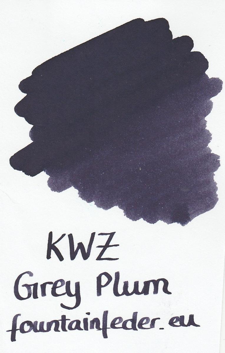 KWZ Grey Plum Ink Sample 2ml
