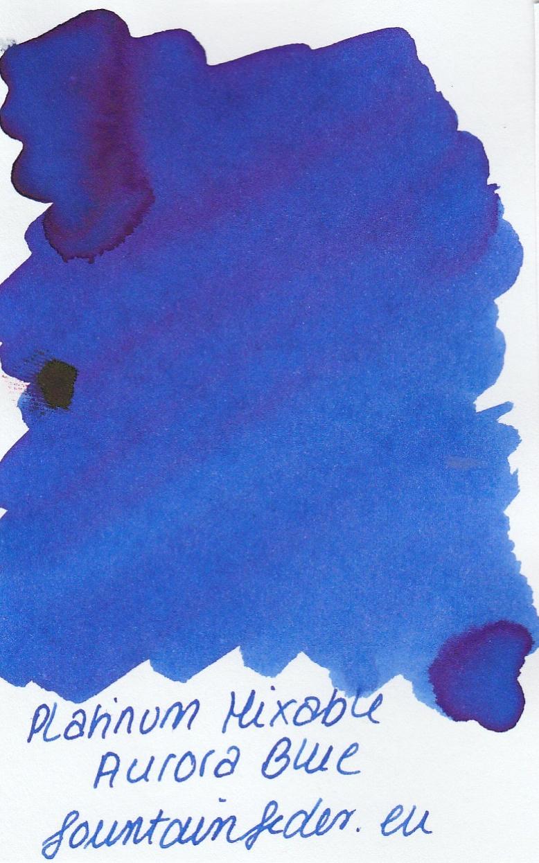 Platinum Mixable - Aurora Blue Ink Sample 2ml