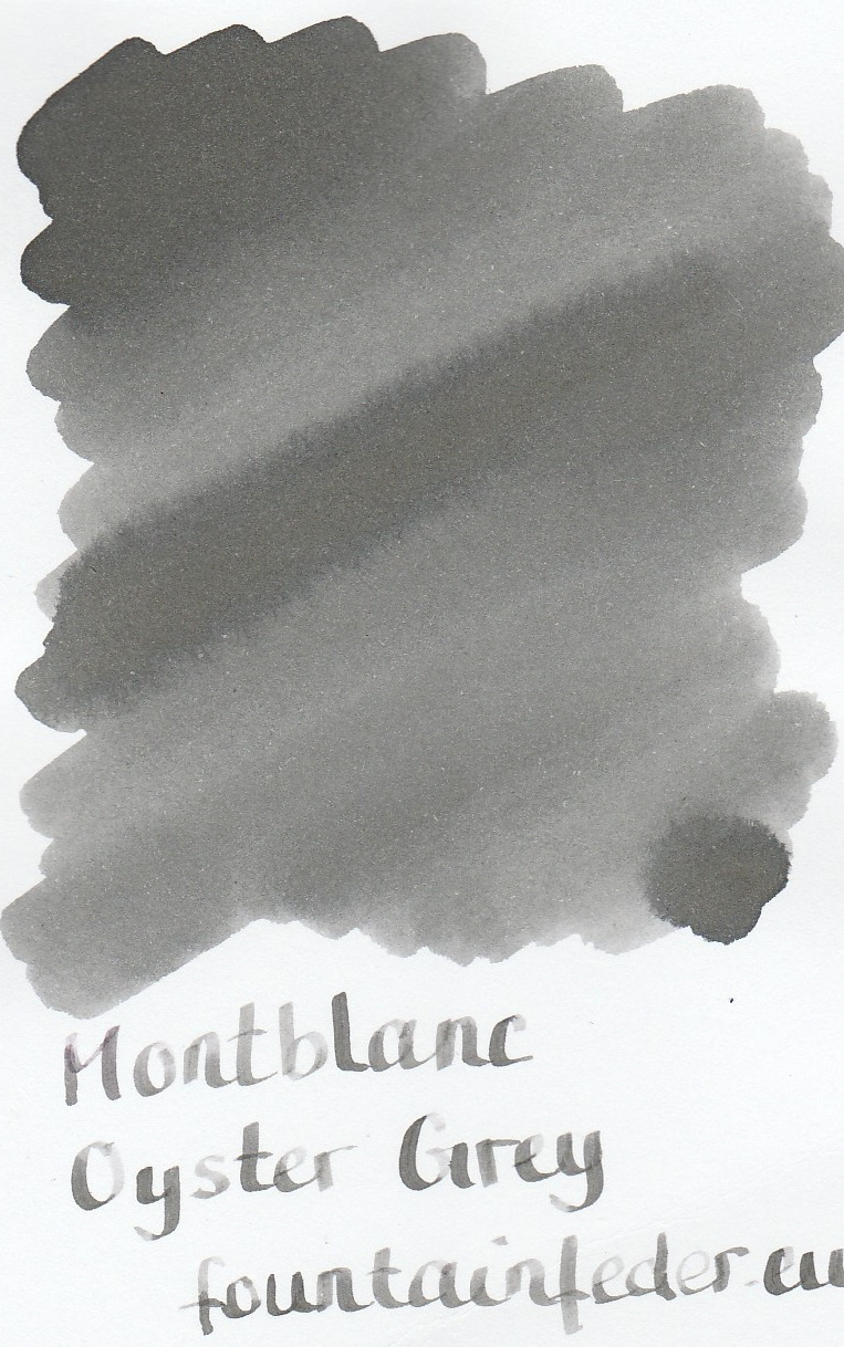 Montblanc Oyster Grey Ink Sample 2ml