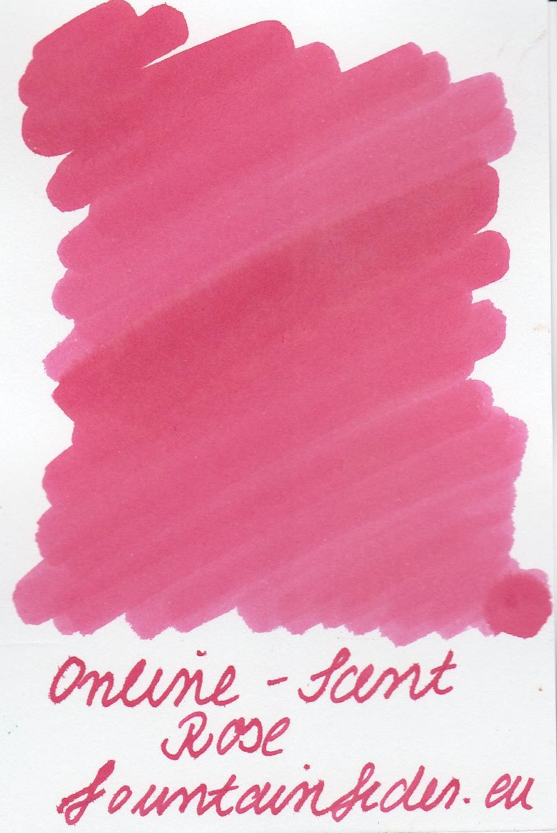 Online Scented Rose Ink Sample 2ml