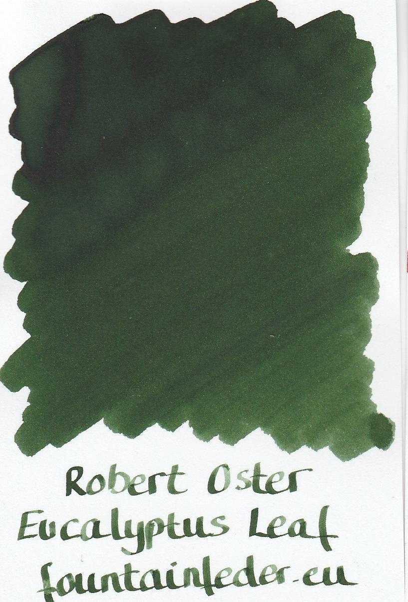 Robert Oster - Eucalyptus Leaf Ink Sample 2ml