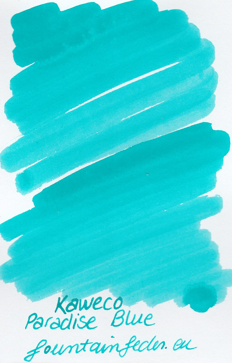 Kaweco Paradise blue Ink Sample 2ml