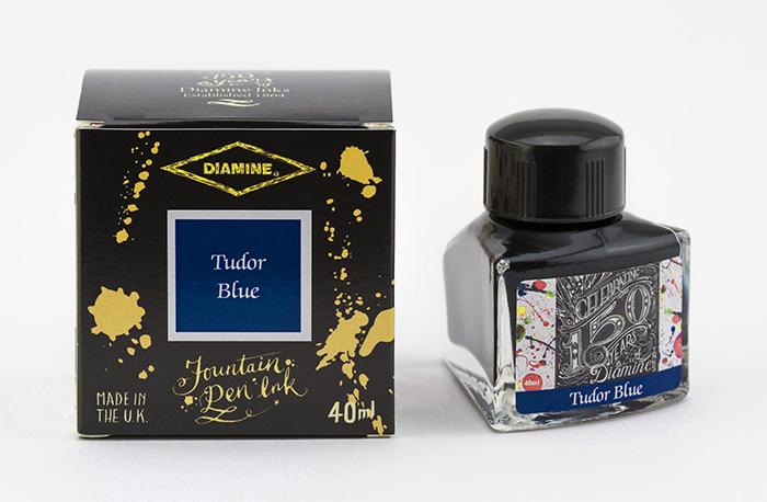 Diamine 150th Anniversary Tudor Blue - 40ml