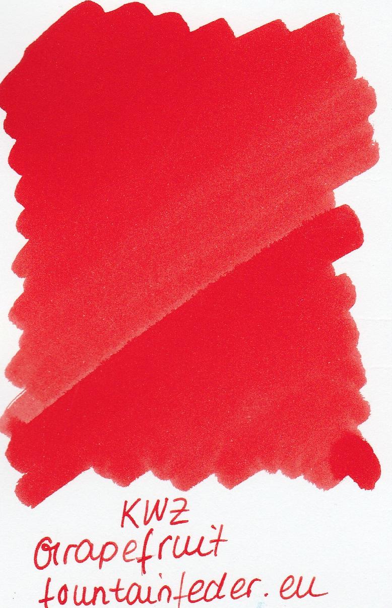 KWZ Grapefruit Ink Sample 2ml