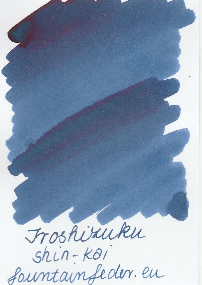 Pilot Iroshizuku Shin-Kai 2ml Ink Sample