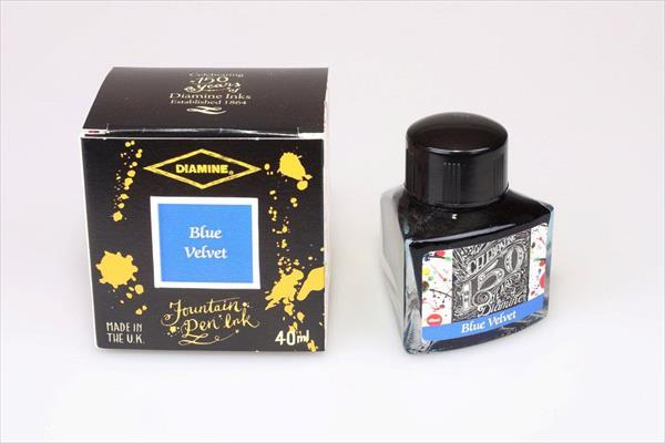 Diamine 150th Anniversary Blue Velvet - 40ml