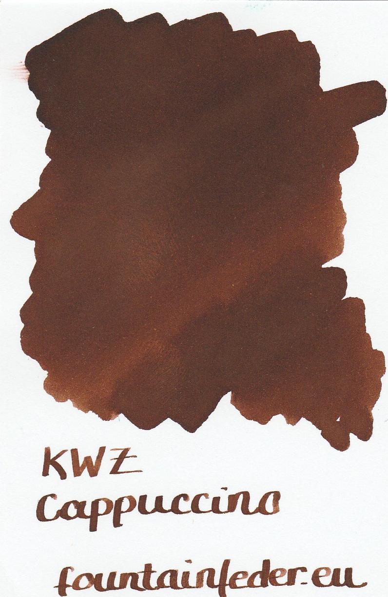 KWZ Cappuccino Ink Sample 2ml