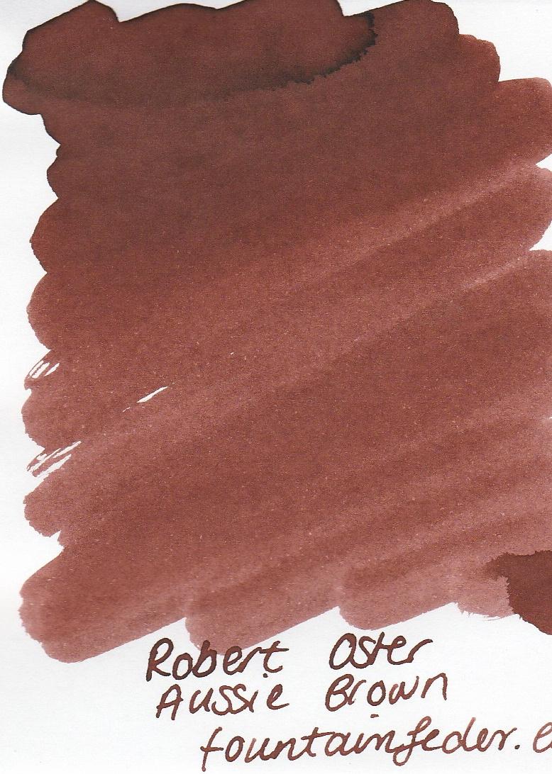 Robert Oster - Aussie Brown Ink Sample 2ml