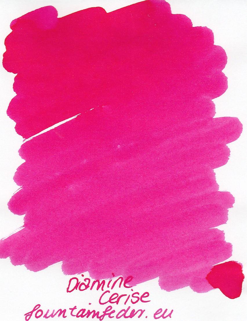 Diamine Cerise Ink Sample 2ml