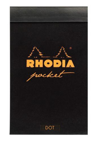 Rhodia Block Pocket 7,5x12cm Dot