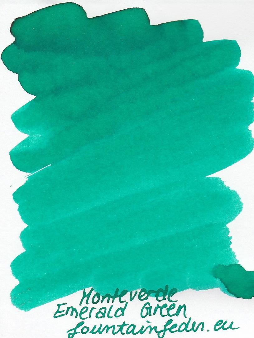 Monteverde  Emerald Green Ink Sample 2ml
