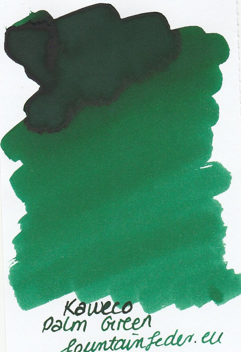 Kaweco Palm Green Ink Sample 2ml