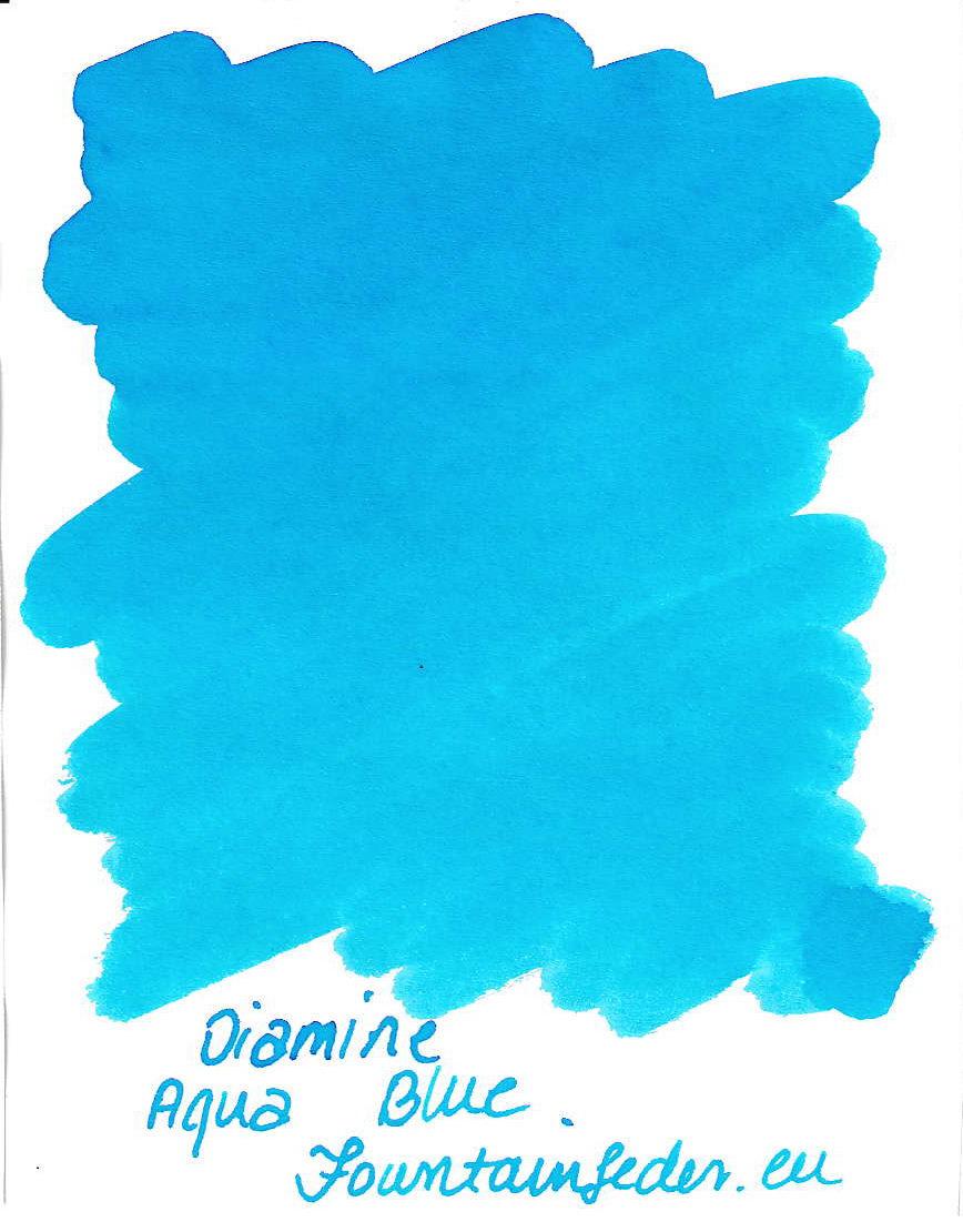 Diamine Aqua Blue Ink Sample 2ml
