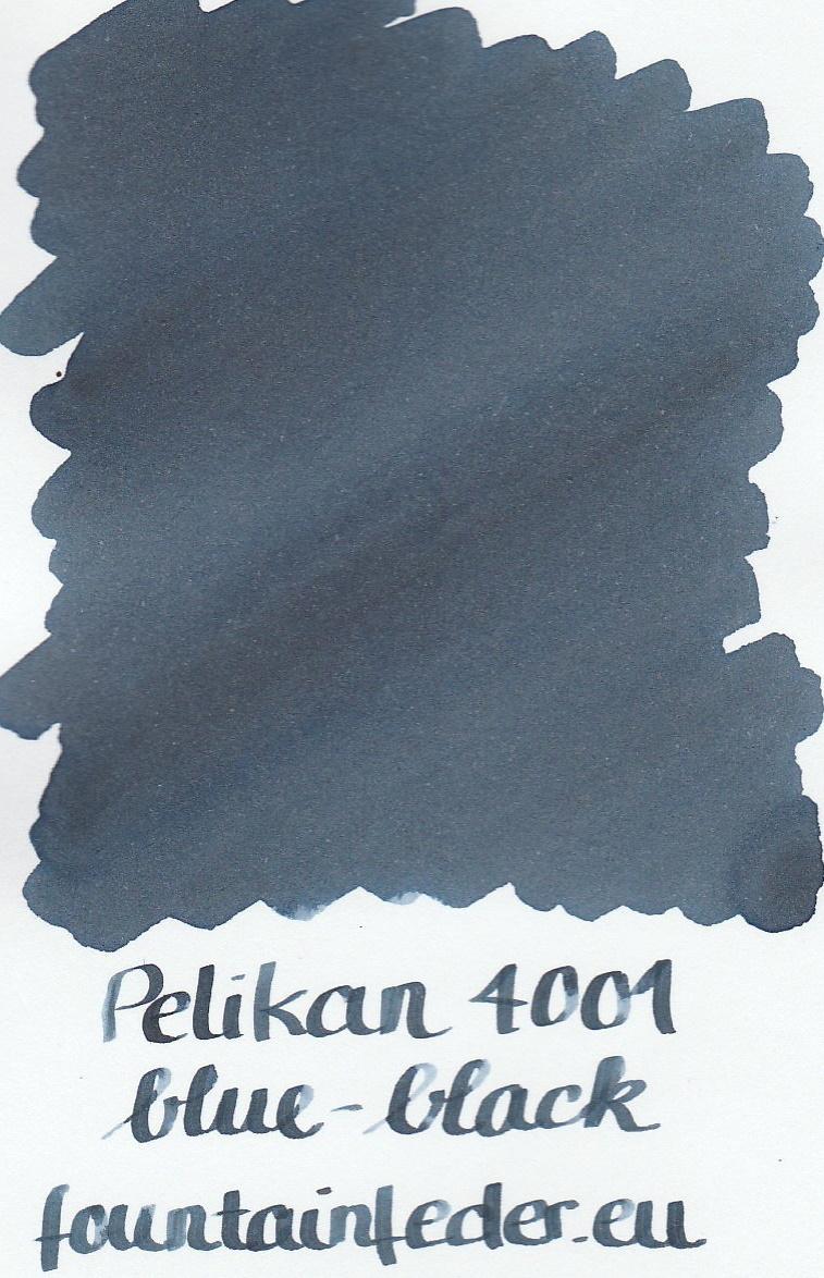 Pelikan 4001 Blue Black Ink Sample 2ml
