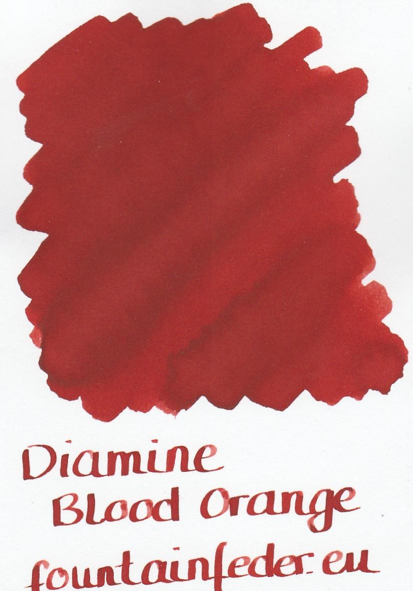 Diamine Blood Orange Ink Sample 2ml