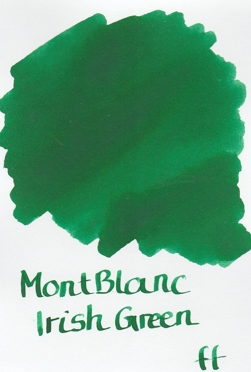 Montblanc Irish Green Ink Sample 2ml