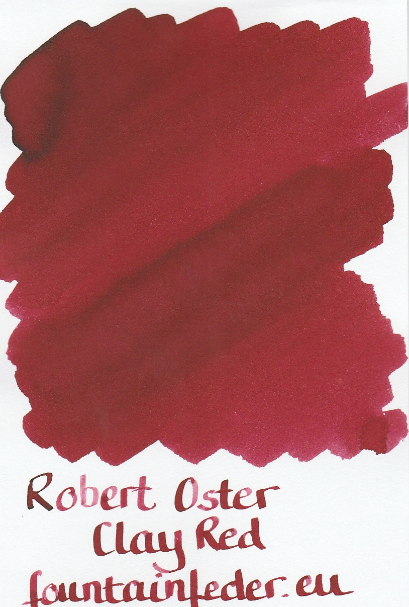 Robert Oster - Clay Red Ink Sample 2ml