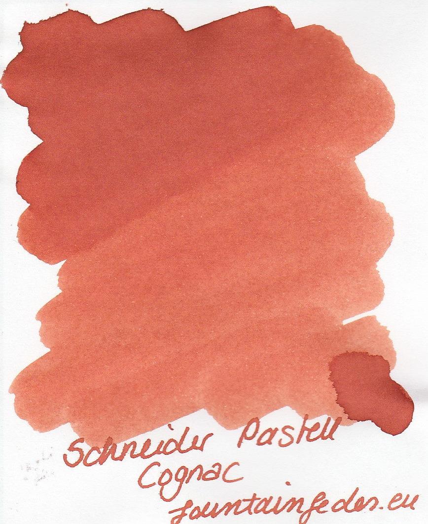 Schneider Pastell Cognac Ink Sample 2ml