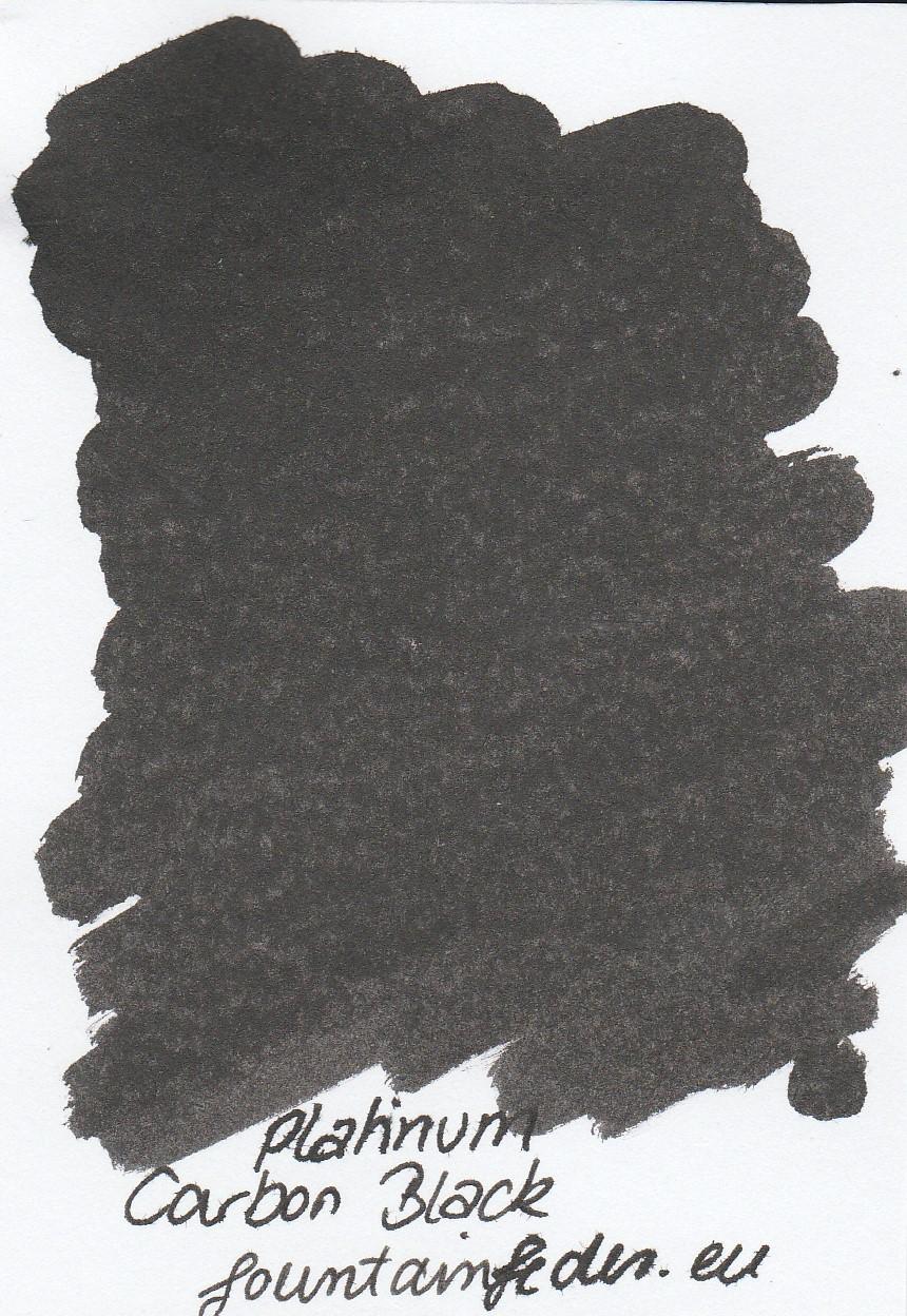 Platinum Carbon Black Ink Sample 2ml