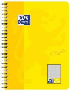 Oxford Touch Collegeblock B5 Sunshine yellow, squared
