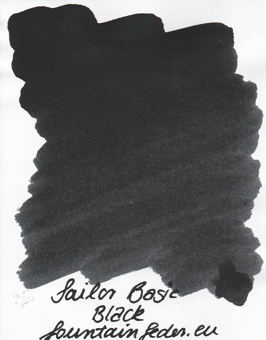 Sailor Basic Black Ink Sample 2ml