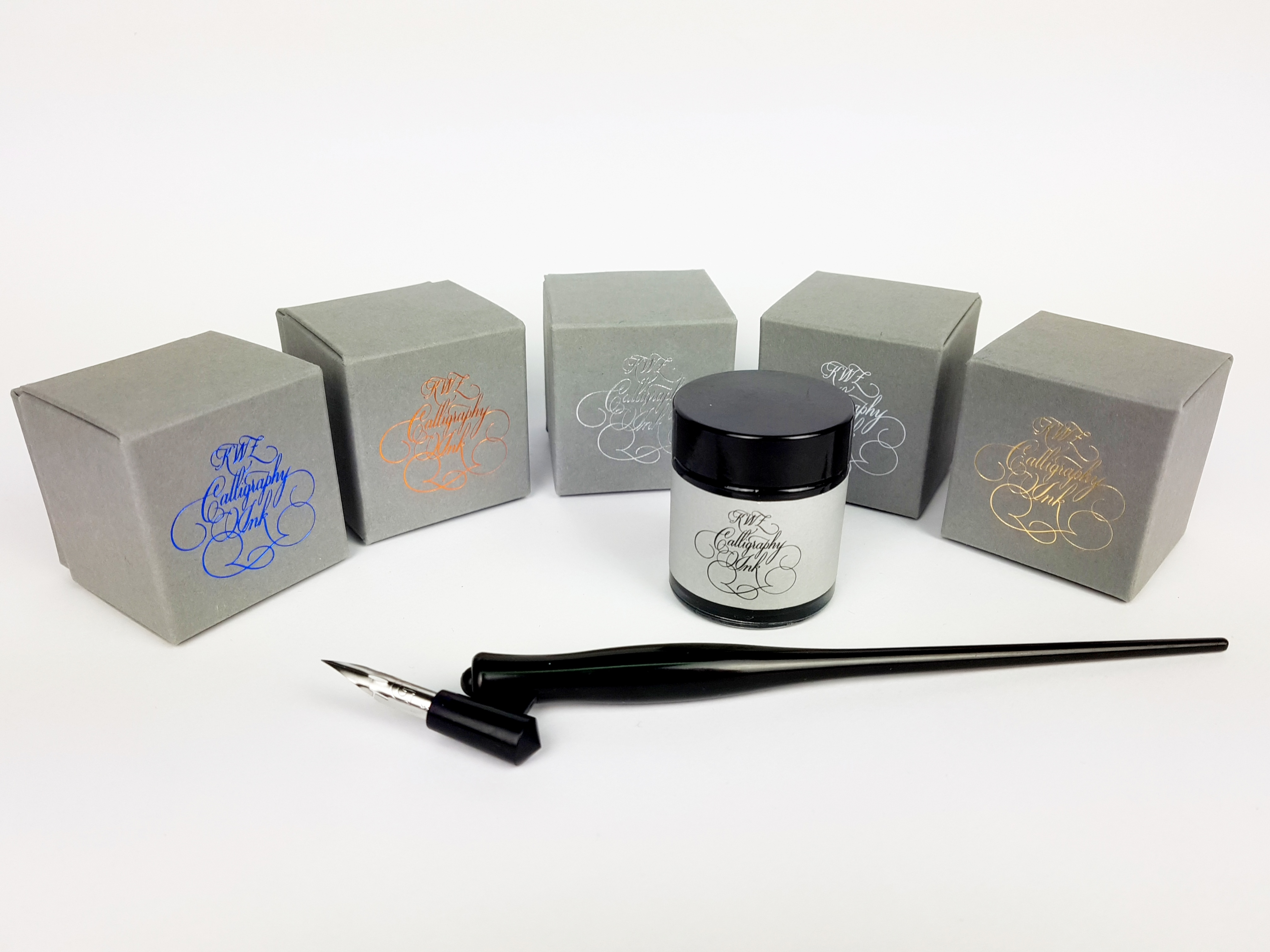 KWZ Calligraphy Ink 25g White