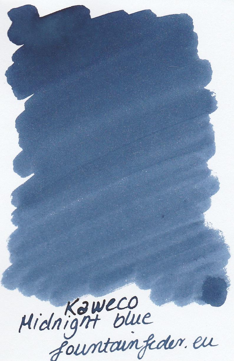 Kaweco Midnight blue Ink Sample 2ml