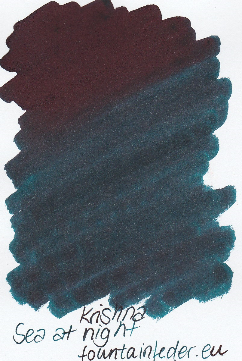 Krishna RC Sea at Night Ink Sample 2ml