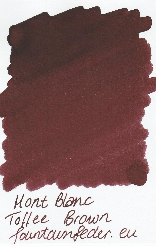 Montblanc Toffee Brown Ink Sample 2ml