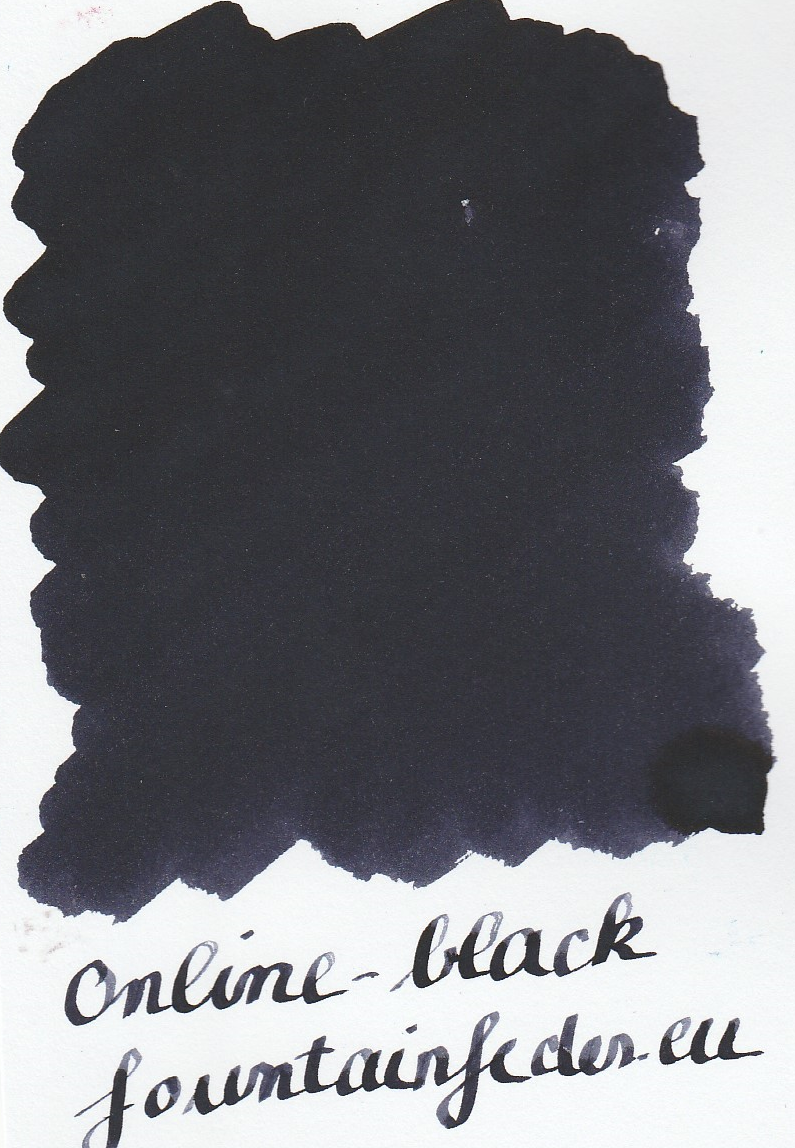 Online Black Ink Sample 2ml