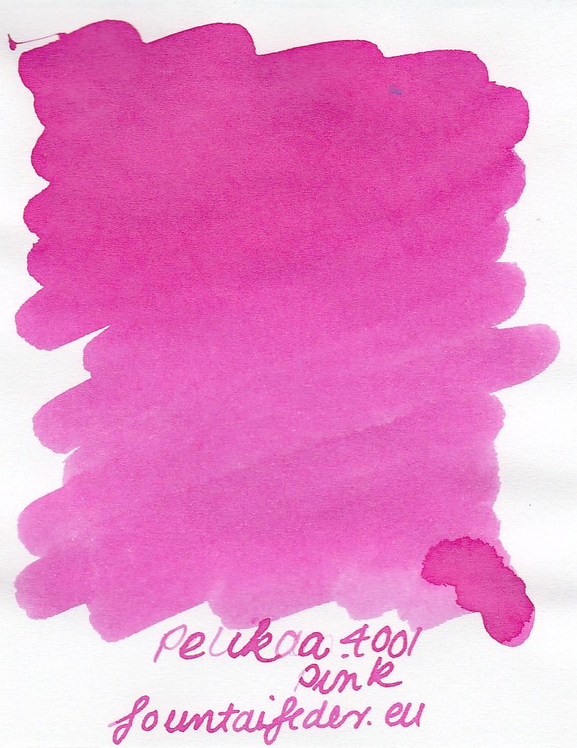 Pelikan 4001 Pink Ink Sample 2ml