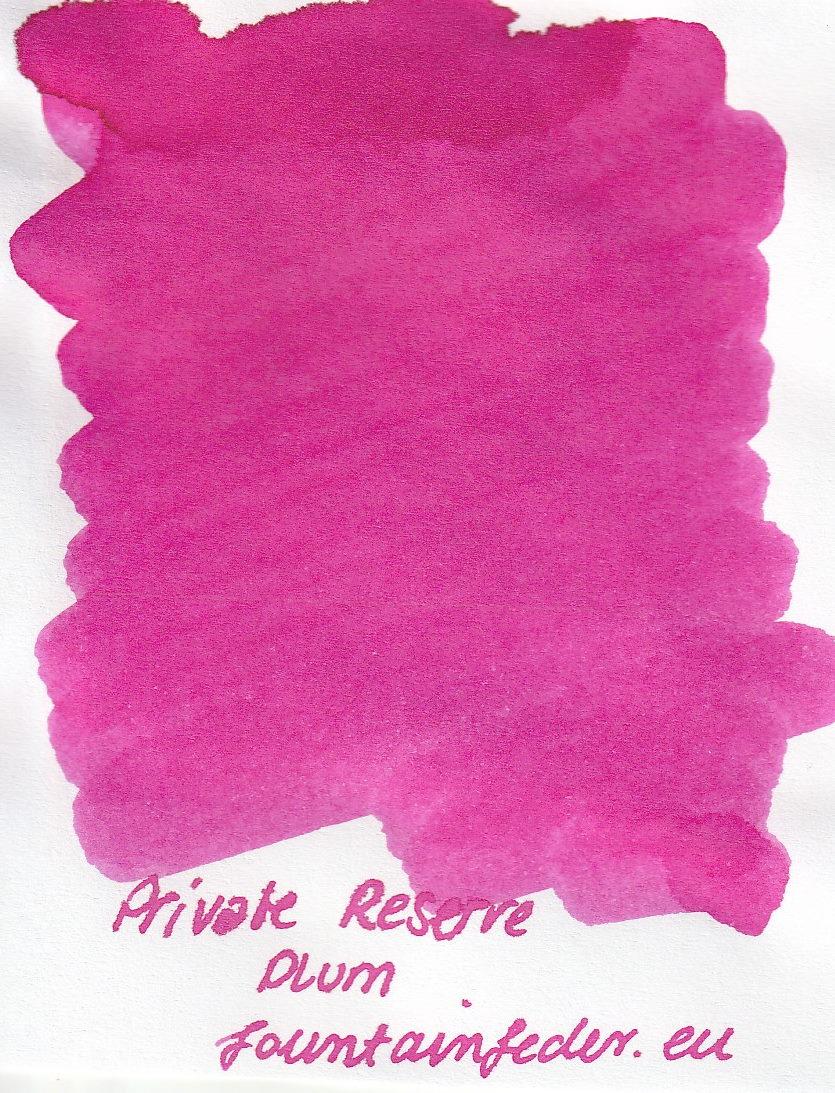 Private Reserve - Plum Ink Sample 2ml