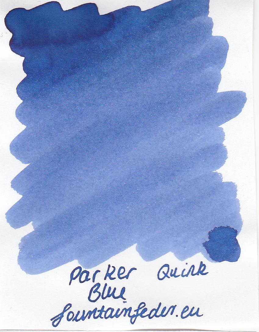 Parker Quink Blue Ink Sample 2ml