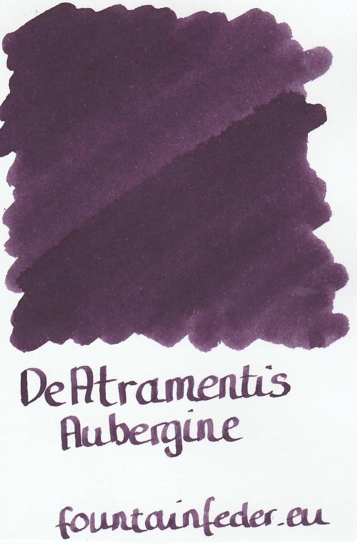 DeAtramentis Aubergine Ink Sample 2ml