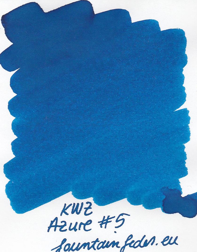 KWZ Azure #5 Ink Sample 2ml