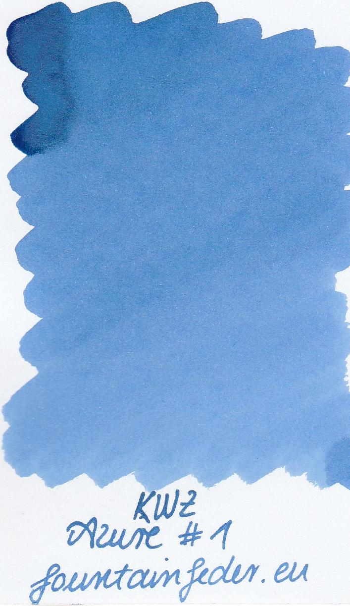 KWZ Azure #1 Ink Sample 2ml