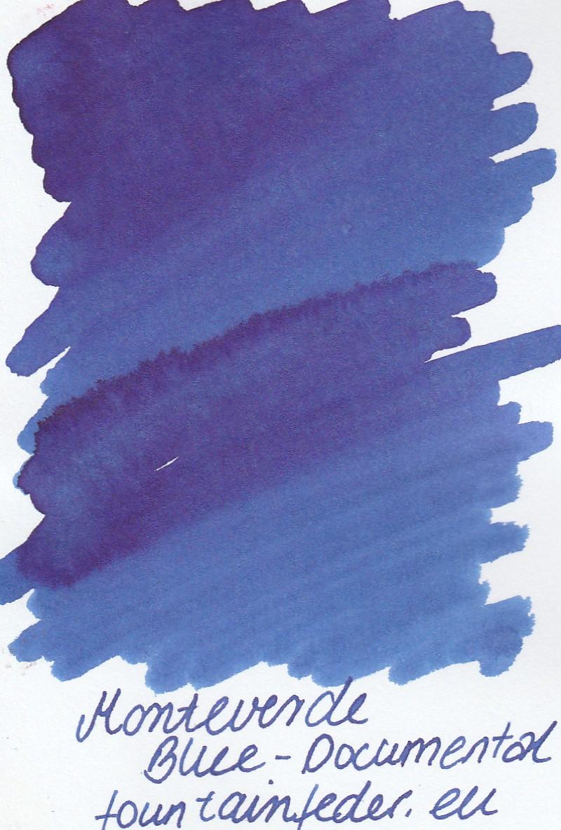 Monteverde  Blue Documental Ink Sample 2ml