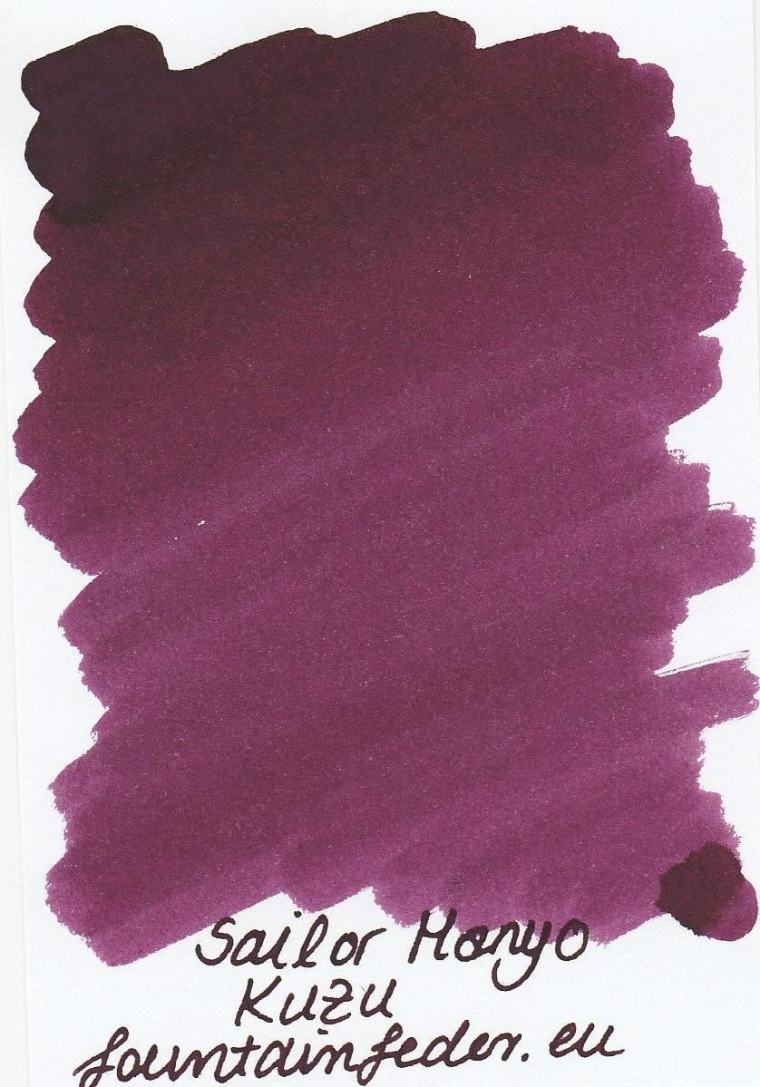 Sailor Manyo Kuzu Ink Sample 2ml